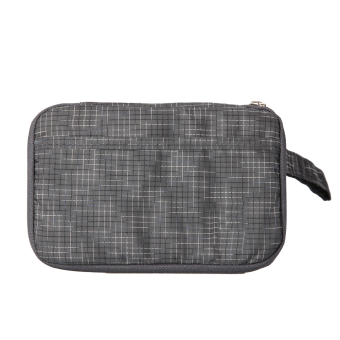 Handy Passport Bag Credit ID Card Holder Cash Wallet Purse (Charcoal Gray) - intl