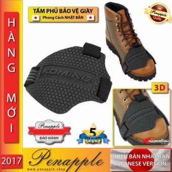 Tấm phủ bảo vệ giày móc số đệm lót cao su xe côn tay, xe mô tô, xe máy có số móc, số gãy Thiết kế tại NHAT BAN JAPAN -- Shoe protector for motorcycle motorbike - PEN APPLE SHOP
