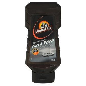 Armorall Wax & Polish - Lau bóng sơn xe (Đen)