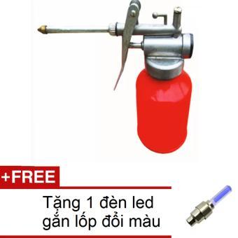 Bơm tra dầu cao áp đầu đồng HQ 0TI94 + Tặng 1 đèn led gắn lốp đổi màu 1TI31