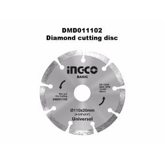 Đĩa cắt kim cương Ingco Φ110x20mm - DMD011102