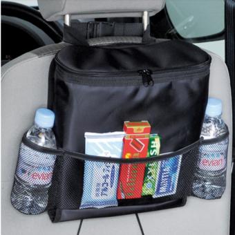 Túi Đựng Đồ Lạnh Du Lịch Trên Ô Tô HQ STORE 0TI66-1 (Đen)