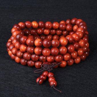 Vòng gỗ Phong thủy Huyết Long (Máu rồng) 108 hạt 6mm