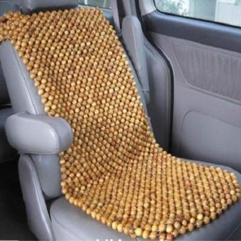 Đệm lót ghế ô tô cao cấp hạt gỗ pơ mu – đặc ruột 1,5cm Phú Đạt