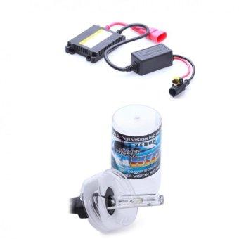 Bộ đèn xenon HID H3 xe ôtô 35W 6000K (Trắng )