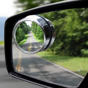 Gương phụ cao cấp xoay 360 gắn gương chiếu hậu xe hơi, ô tô (Đen)