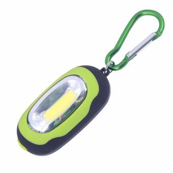Móc khóa đèn LED siêu sáng 3 chế độ ( Xanh Lá )