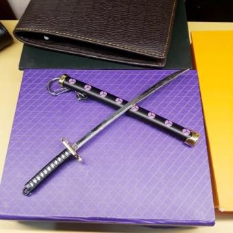 Móc chìa khóa kiếm nhật samurai đen cực ngầu