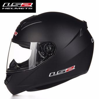 Mũ Bảo Hiểm Fullface LS2 đen nhám