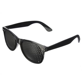 Eye Vision Care Eyesight Improvement Exercise Training Pinhole Eyewear Glasses Elec-Mall