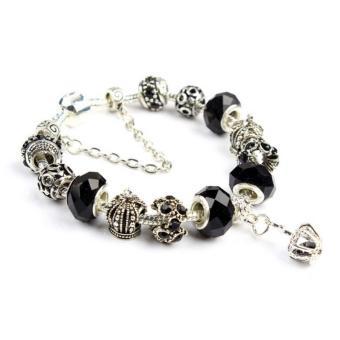 Vòng trang sức hạt charms đeo tay Jewelry Queen Victoria Charm Panda DZ29
