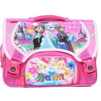 Cặp cấp 1 Hami C145W/Frozen/công chúa (Hồng)