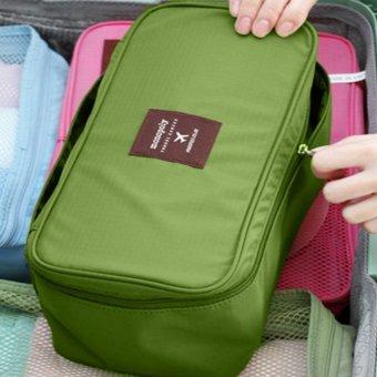 Túi du lịch đựng đồ mỹ phẩm chống nước cao cấp HQ5903-4 (Xanh)