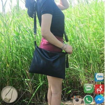 Túi đeo chéo đen đẹp tinh tế, bắt mắt, thu hút mọi ánh nhìn