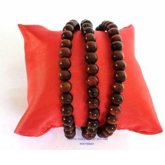 Chuỗi vòng 108 hạt gỗ trắc đỏ cao cấp 6mm
