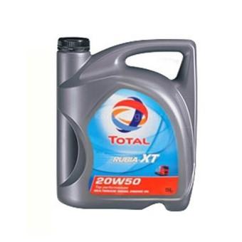 Nhớt xe ô tô Diesel Total Rubia XT 20W50 5L