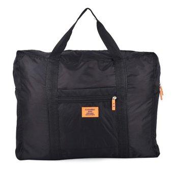 Túi đựng đồ du lịch loại lớn chống thấm xếp gọn (Đen)