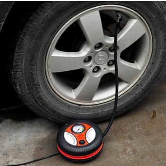 Máy bơm lốp ô tô 12v Air Compressor 260PSI HQ Store 0TI87 (Đen phối đỏ)