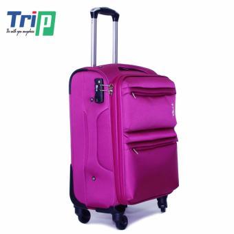 Vali Vải TRIP P033 Size L - 28inch (Hồng cánh sen)