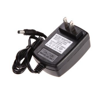 AC 100-240V Converter Adapter DC 5.5 x 2.5MM 12V 2A 2000mA Charger US Plug (Black)(Intl)