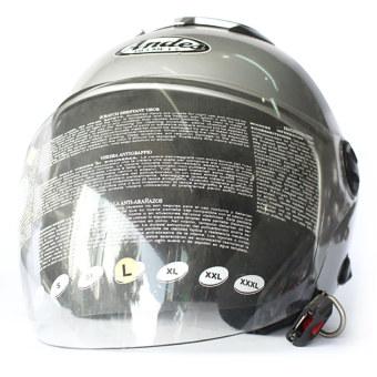 Mũ bảo hiểm ANDES 202 FB (bạc)
