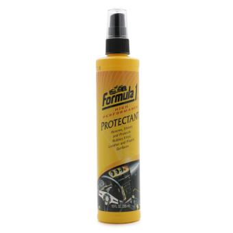 Chất bảo vệ táp lô khử mùi ô tô Formula 1 - Protectant 615006 295ml (Vàng)