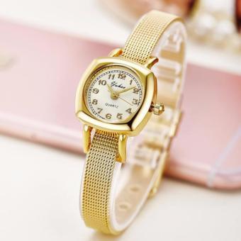 Đồng hồ nữ dây hợp kim Yuhao PKHRYU004-1 (vàng)