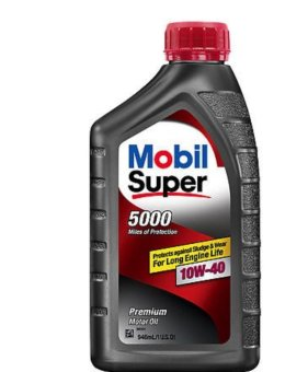 Nhớt Mobil Super 5000 SAE 10W40 1L