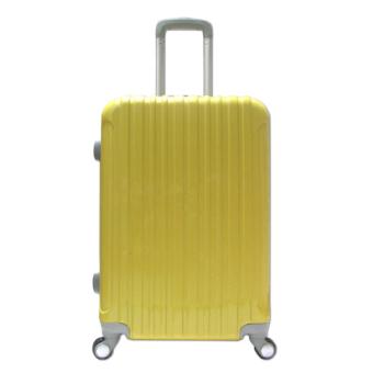 Vali du lịch nhựa dẻo siêu nhẹ cỡ trung đựng 20Kg TA218 (Vàng).