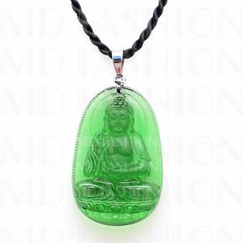 Dây chuyền mặt ngọc Phật Thích Ca 6cm THE OXFORD 8611