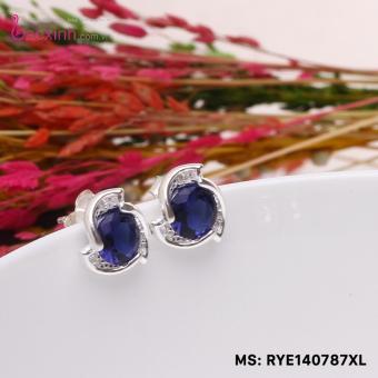 Bông tai nữ trang sức bạc Ý S925 Bạc Xinh - Chong chóng đẹp RYE140787