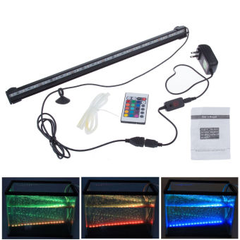 Teamwin Aquarium Fish Tank 18 LED 5050 SMD Bar Submersible Waterproof Light Lamp US Plug - Intl