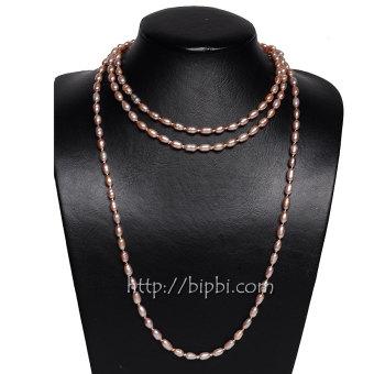 Vòng cổ ngọc trai nuôi đeo 8 kiểu BIPBI NT01
