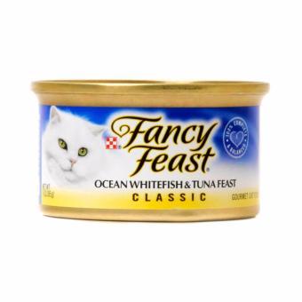 Pate cho mèo Fancy Ocean Whitefish & Tuna feast ( vị cá ngừ )