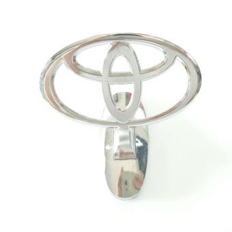 Mua Logo gắn trang trí xe ô tô Toyota (Trắng bạc) giá tốt nhất