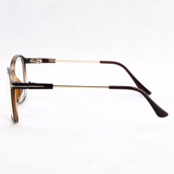 Kính mắt giả cận nam nữ gọng vuông - 1006Apparel 2017mkc08den ( Đen )