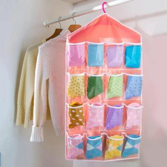 Túi vải treo đồ 16 ngăn đa năng tiện ích