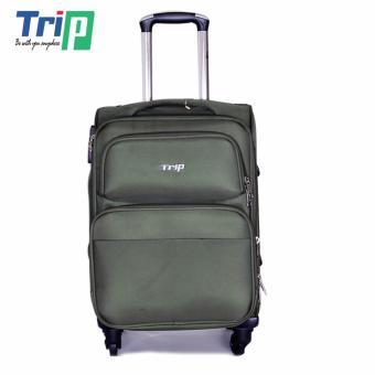 Vali Vải TRIP P036 Size S - 20inch (Xanh rêu)