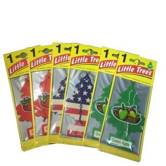 Combo 6 Sáp Thơm Cây Thông 3 Hương Little Trees Made In USA
