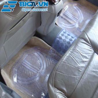 Bộ Kit Thảm Lót Sàn Ô Tô PVC Trong Suốt US04274