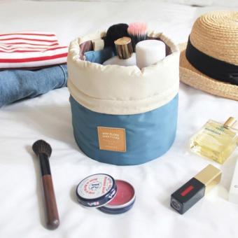 Túi du lịch đựng đồ mỹ phẩm chống nước (Xanh)