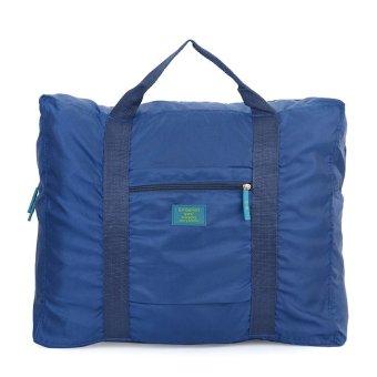 Túi đựng đồ du lịch loại lớn chống thấm xếp gọn (Xanh Đen)