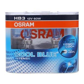 Bộ 2 bóng đèn ô tô Osram HB3 Coolblue Intense (Xanh)