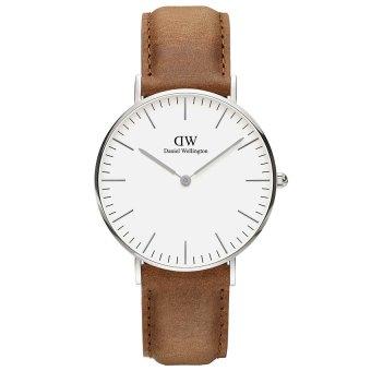 Đồng hồ nam dây da Daniel Wellington DW00100112 (Nâu)