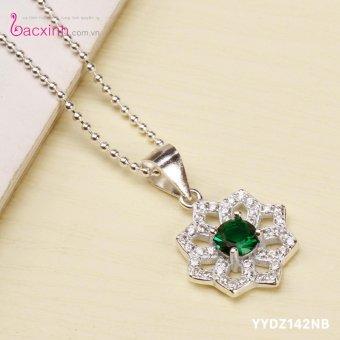 Mặt dây chuyền nữ trang sức bạc Ý S925 Bạc Xinh YYDZ142