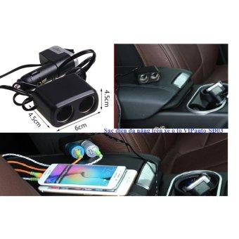 Sạc điện đa năng trên xe ô tô VIPsauto-SĐ03