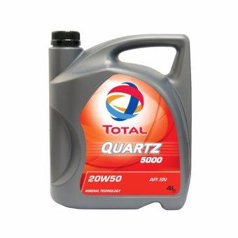 Nhớt xe ô tô Total Quartz 5000 20W50 4L