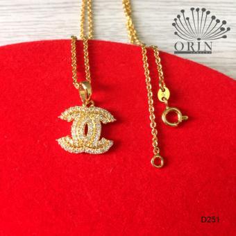 Dây chuyền mạ vàng cao cấp Orin D251