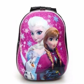Ba lô hình công chúa ellsa cho bé gái đi học