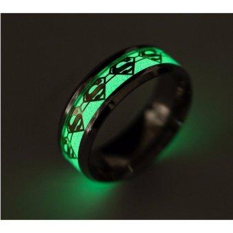 Nhẫn nam dạ quang phát sáng phong cách Âu Mỹ NN026